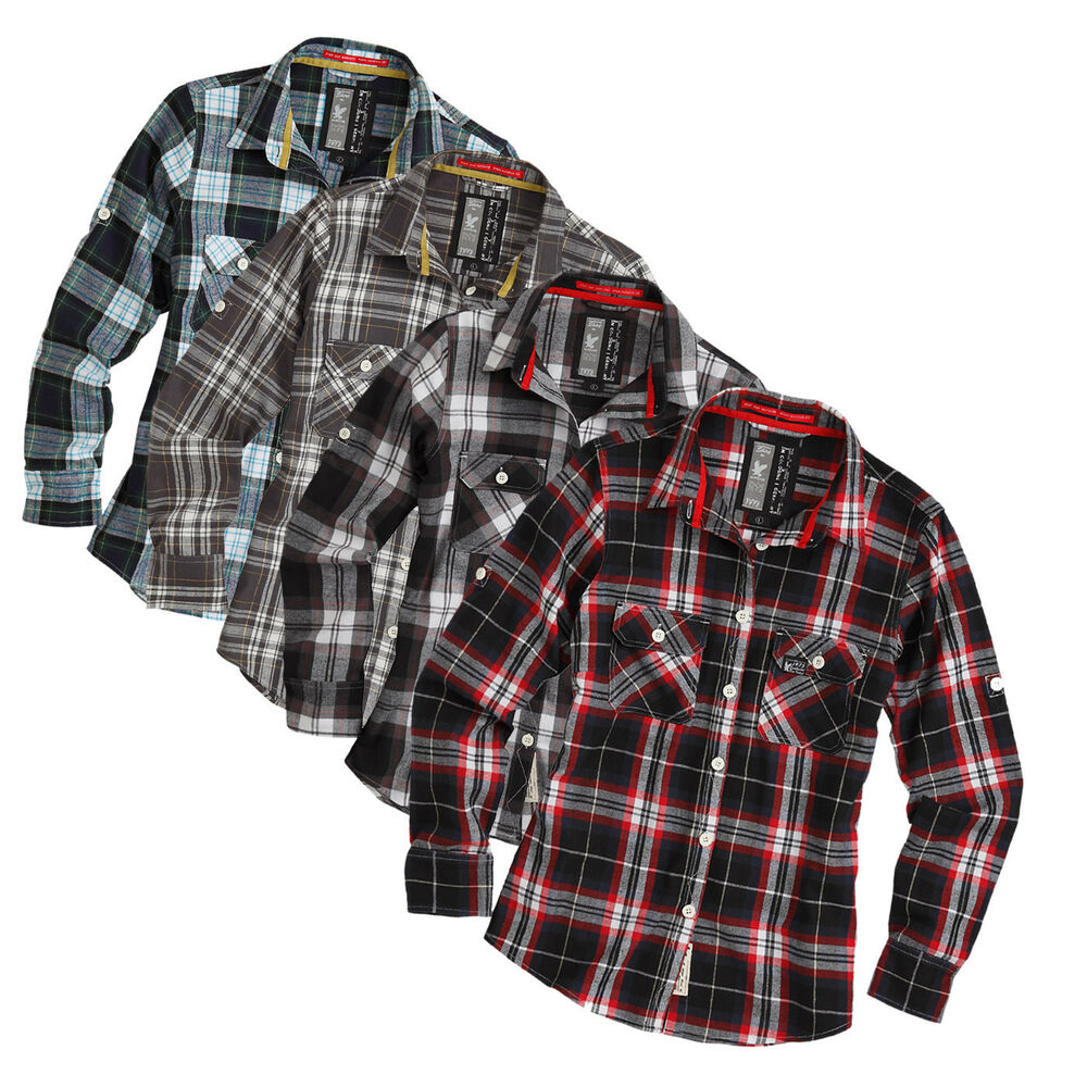 surplus raw damen lumberjack shirt hemd holzf ller bluse wood cutter kariert ebay. Black Bedroom Furniture Sets. Home Design Ideas