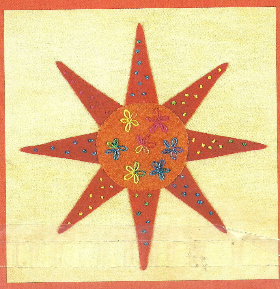 Free Quilt Pattern For 8 Point Star : Piece O Cake Designs Pin Pal Letter #6/Applique Pattern/Eight-Pointed Star eBay