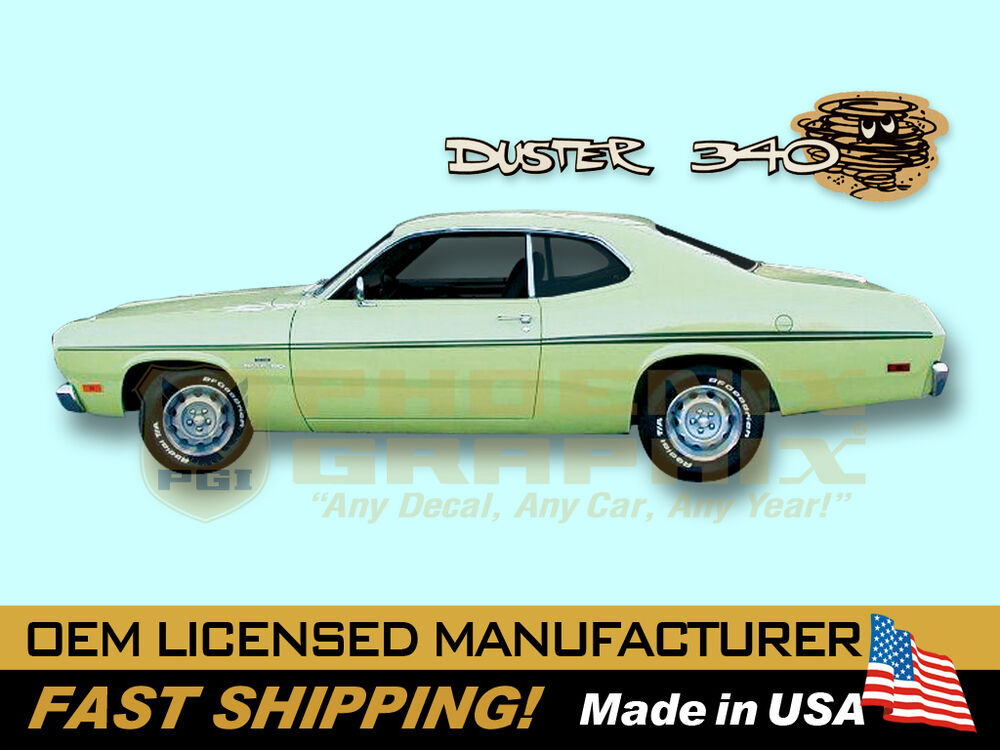 Graphic Express - 1970 Plymouth Duster Side and Tail Panel