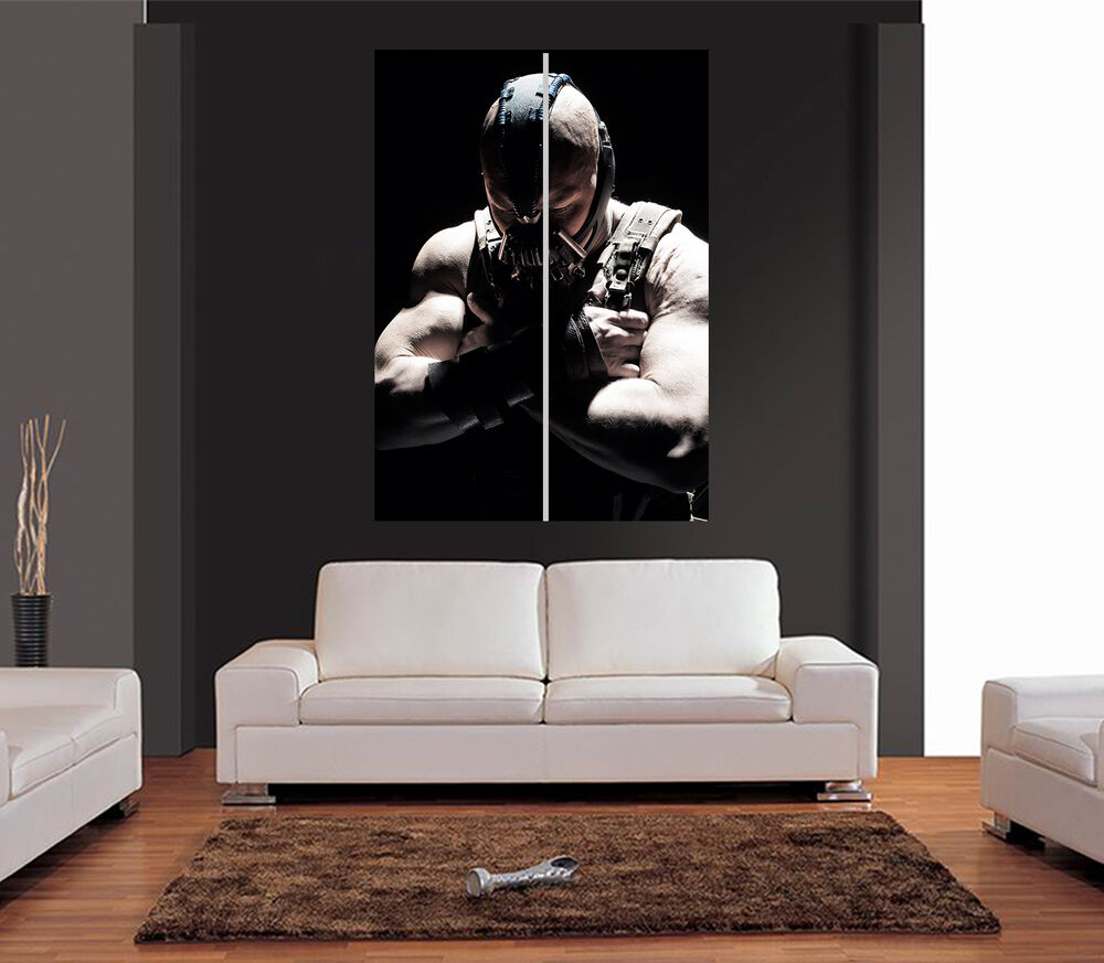 Bane batman dark knight rises giant wall art print picture for Dark knight rises wall mural