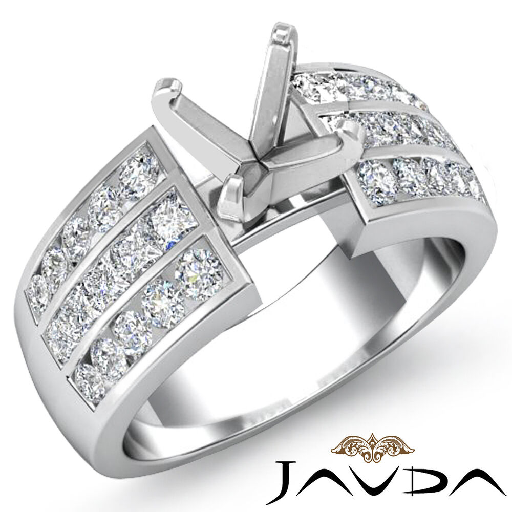 Multi Shape Semi Mount Princess Round Diamond Engagement