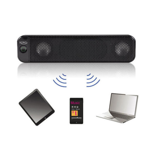 bluetooth lautsprecher soundboost xoro hxs 700 speaker sound box mit akku mobile ebay. Black Bedroom Furniture Sets. Home Design Ideas