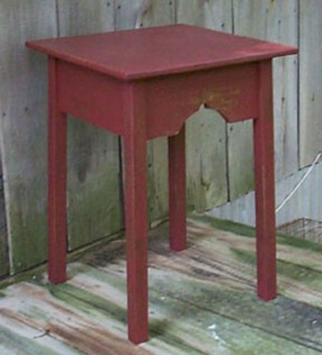 Primitive large lamp side table pattern plan wn107 ebay for End table patterns