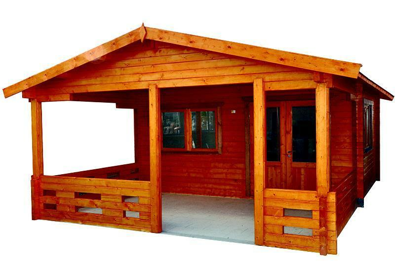 gartenhaus freiburg blockh tte 500x400cm veranda blockhaus holzhaus 70 mm ebay. Black Bedroom Furniture Sets. Home Design Ideas