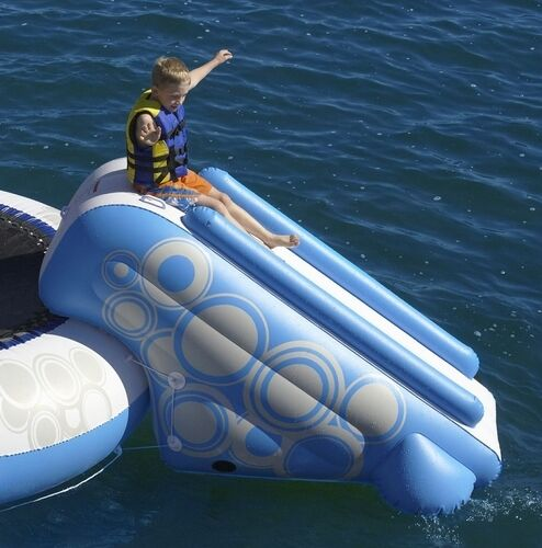 Inflatable Water Slide Toyworld: New 7' Inflatable Pool & Lake O Zone Water Slide Toy Raft