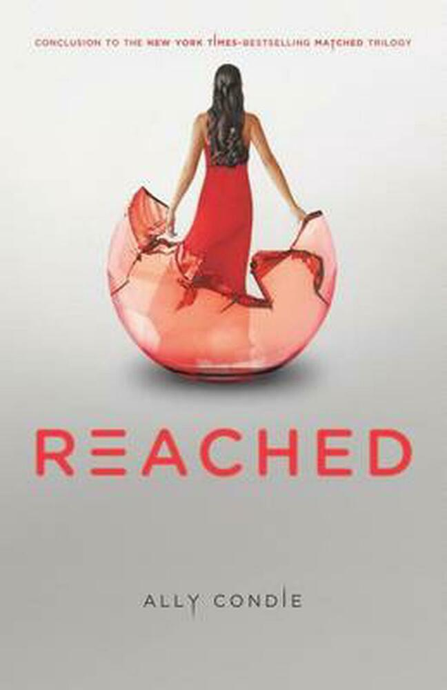 Matched Series Book Cover ~ Reached by ally condie hardcover book english