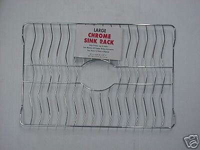 Ezdo Large Chrome Sink Dish Cup China Rack Protector Ebay