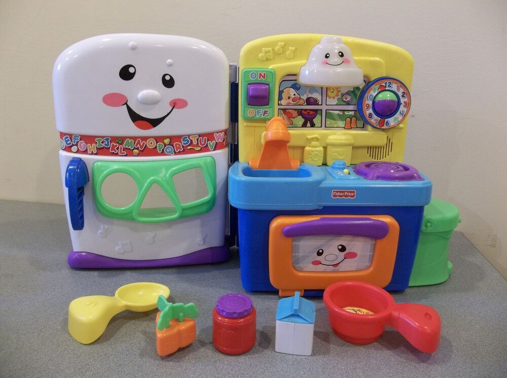 FISHER PRICE LAUGH & LEARN KITCHEN MUSICAL LEARNING ...