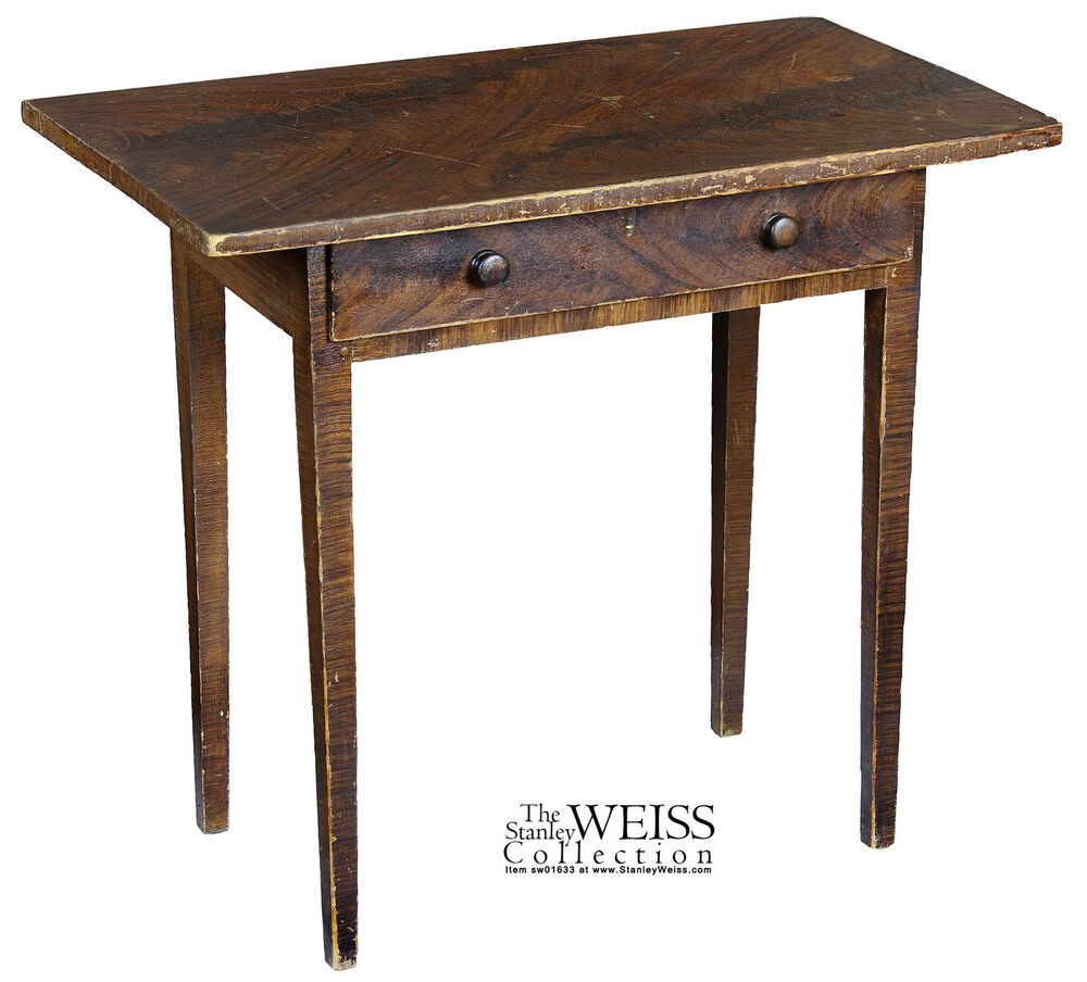 Swc grain painted side table new england ebay for England table