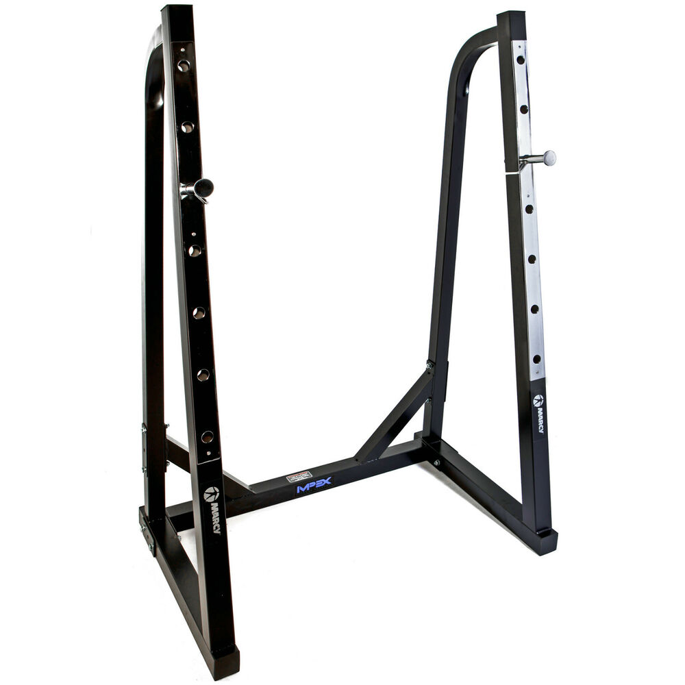 Marcy Sr50 Heavy Duty Olympic Squat Rack For Use With Any