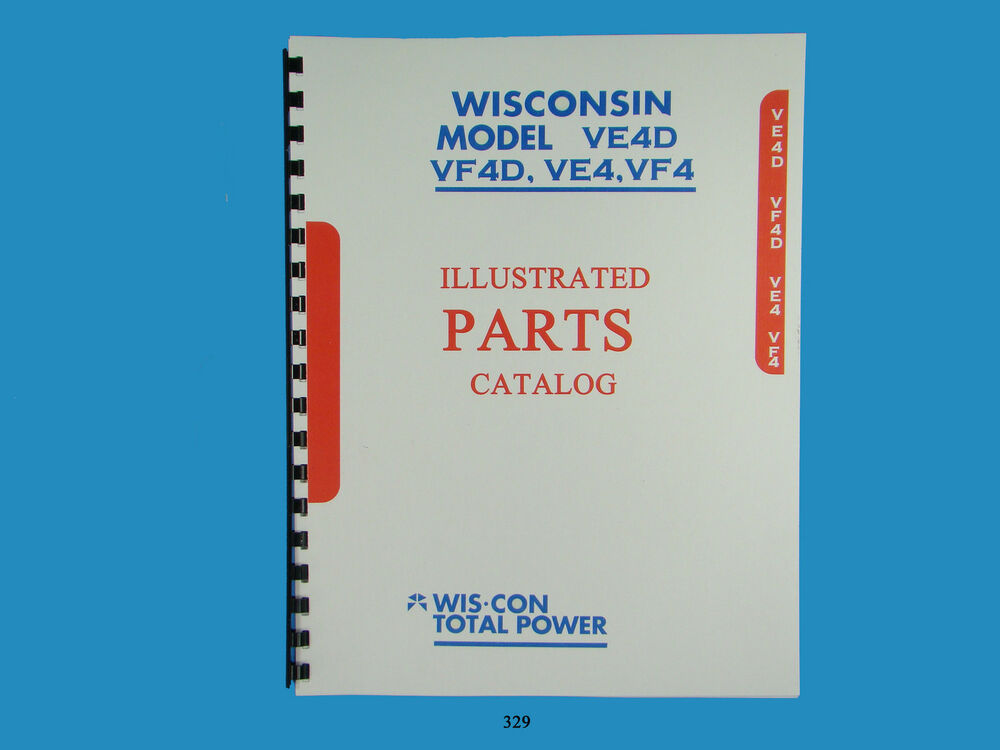 Wisconsin Vf 4d Engine Manual