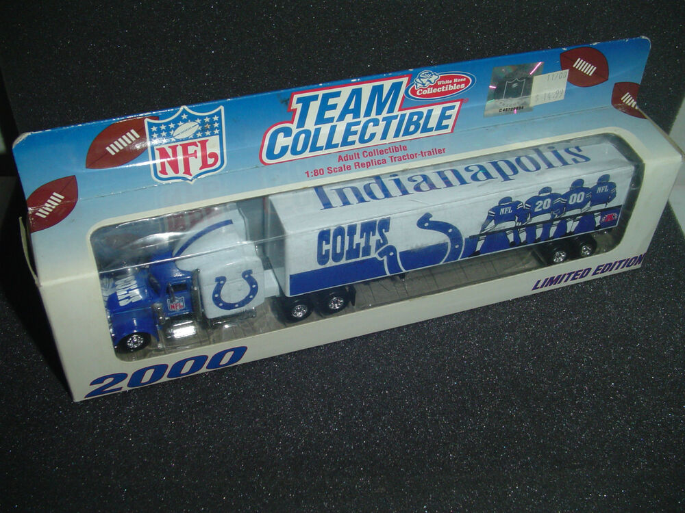 Nfl Toy Trucks : Indianapolis colts nfl truck rare gift toy limited