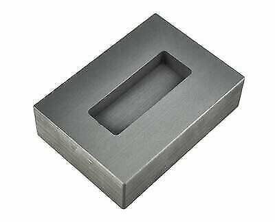 5 Oz Gold Graphite Ingot Kit Kat Bar Mold For Melting