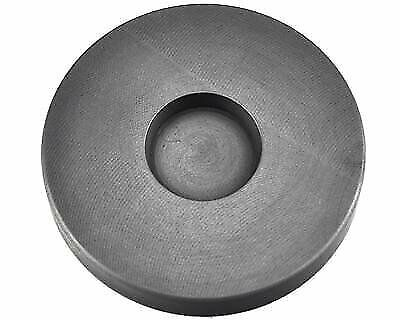 2 Troy Oz Round Gold Graphite Ingot Coin Mold Melting