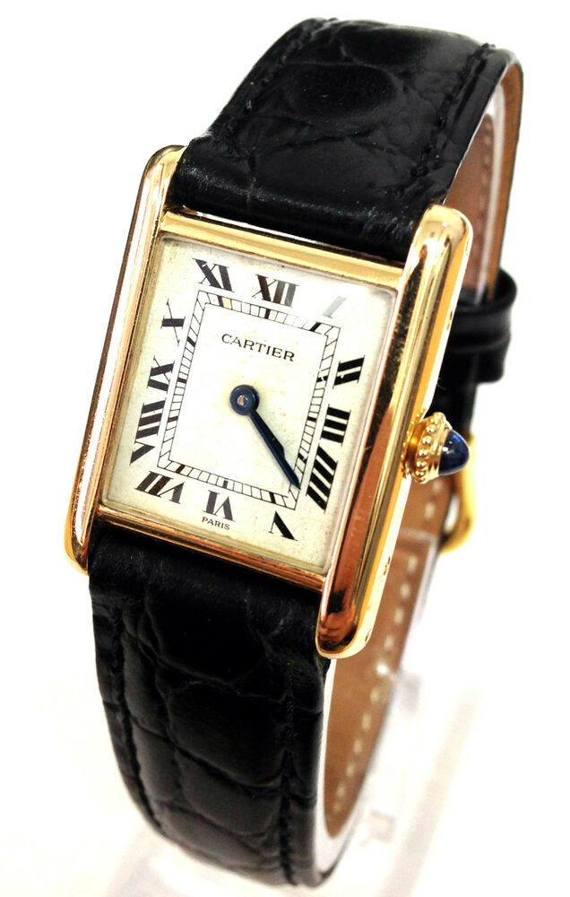 Cartier watches for women leather strap