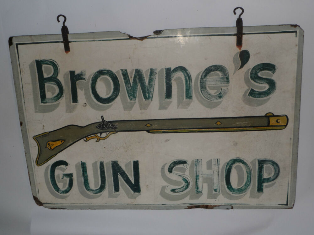 Vintage Hand Painted Signs For Sale