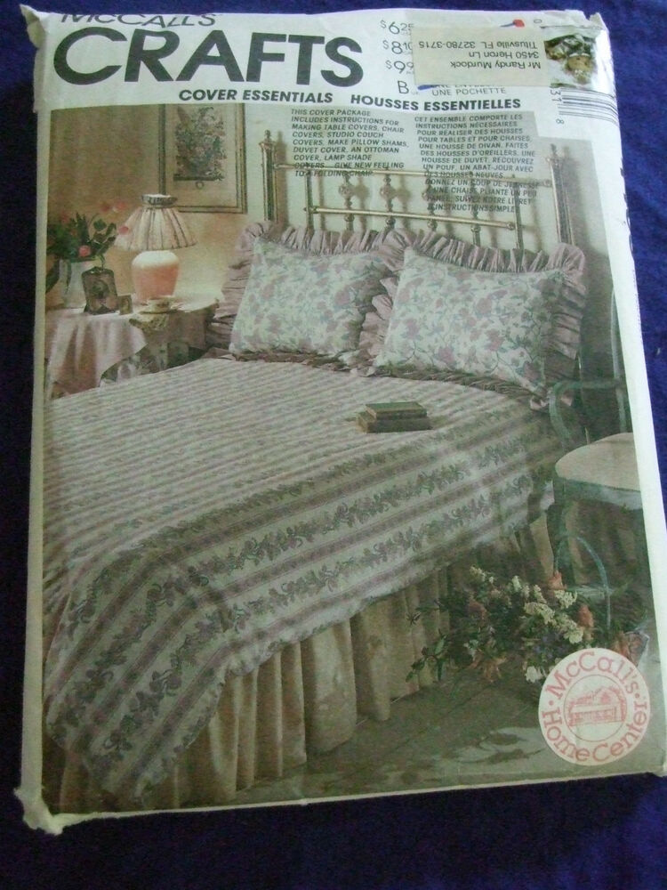 Uncut Mccalls 4403 Craft Home Decor Sewing Pattern Bedroom Ebay