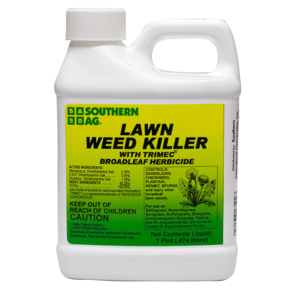 Trimec Lawn Weed Killer 1 Pt Broadleaf Weed Herbicide Kills Most Broadleaf Weeds Ebay