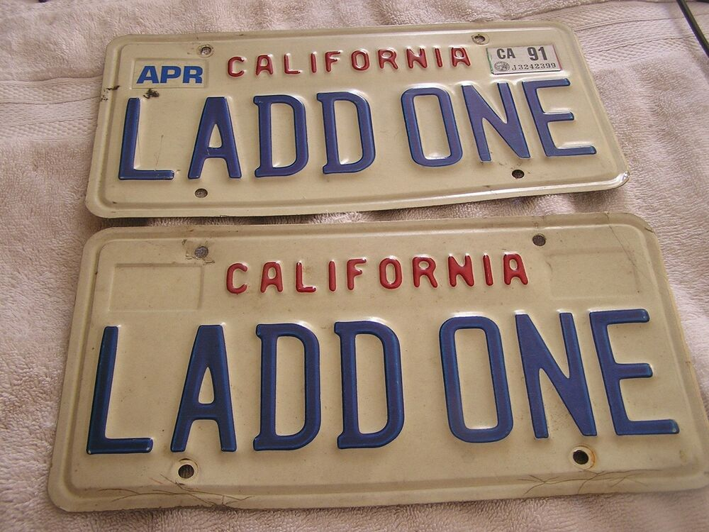 Special Interest License Plate Ordering System - California