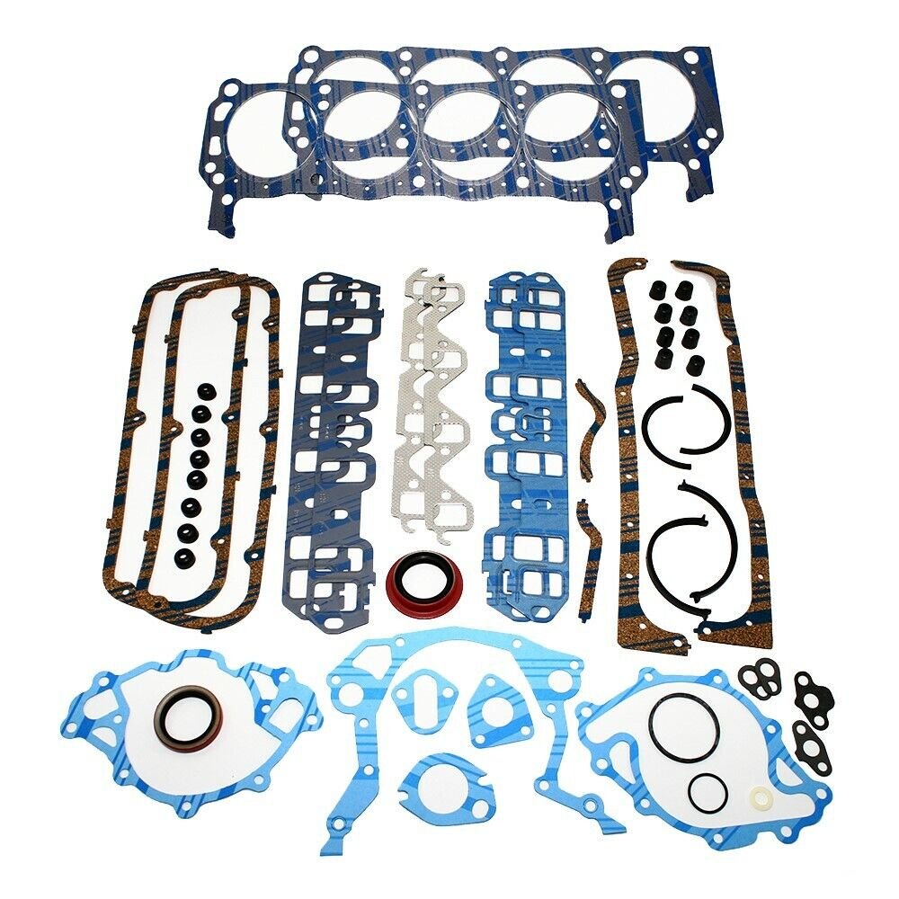 Ford Gasket: Ford 260 289 302 Small Block Ford Fel Pro Gasket Set 62-82