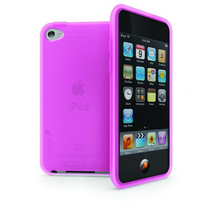 I Like The New Touch Of Pink In: Cygnett FlexiGel TPU Case For IPod Touch 4G - Pink NEW