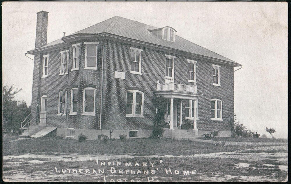 topton pa lutheran orphans home infirmary antique b w