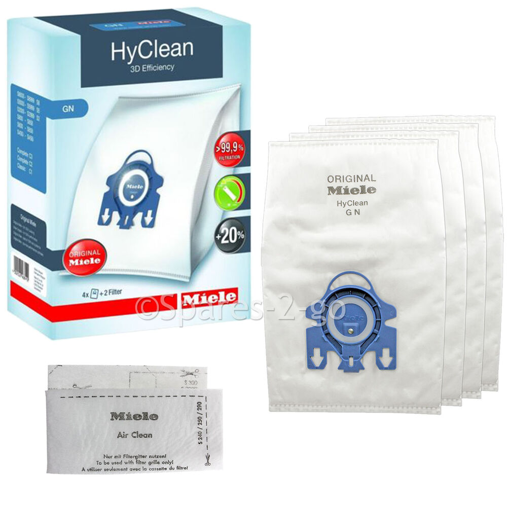 Hoover Vacuum Cleaner Bags Type Y Genuine MIELE GN S2111 HyClean Vacuum Cleaner DUST BAG ...