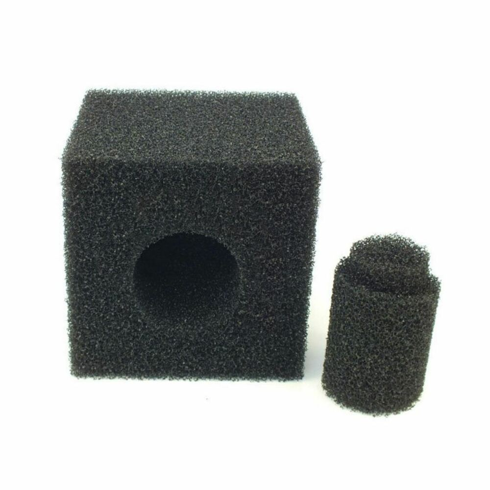 Pre filter foam cube 8 inch koi pond pump media square for Pond filter sponges
