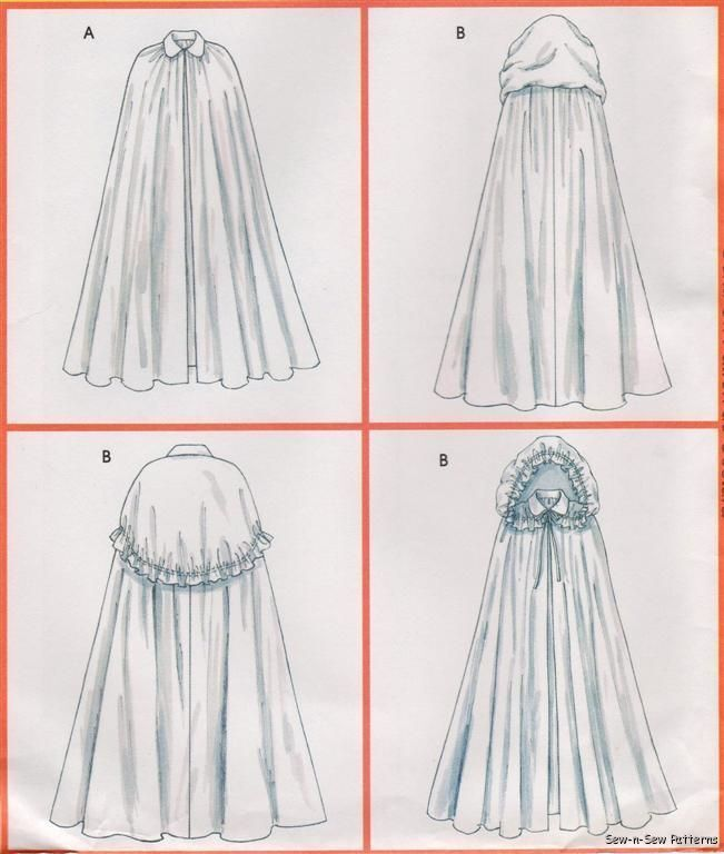 how to make a medieval cloak patterns