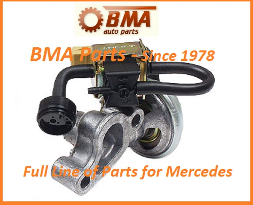 New oem pierburg mercedes egr valve w soleniod for w202 for Mercedes benz egr valve replacement
