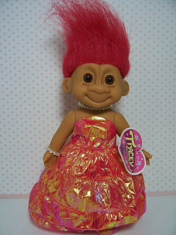 Tracey at the queen s ball 7 quot russ troll doll new in original wrapper