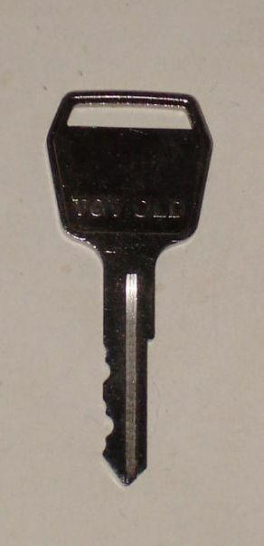 Old Tractor Keys : Toyota forklift heavy equipment key old style new fits