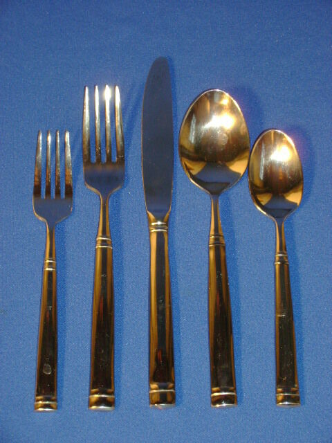 Towle Stainless Flatware Stephanie 5 Piece Place Setting