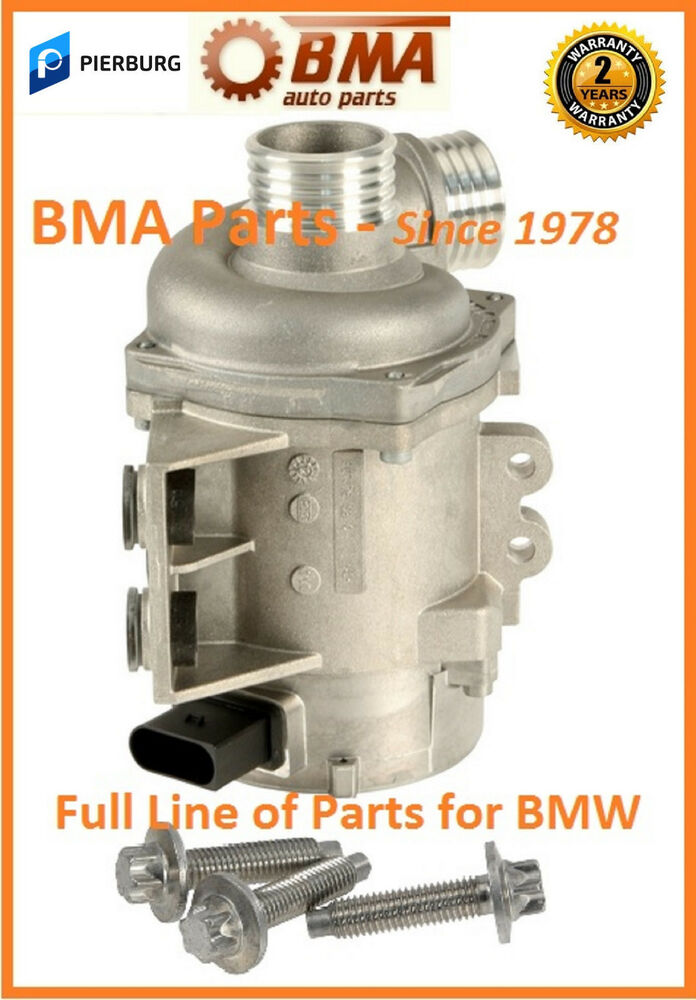 New Oem Pierburg Bmw Electric Water Pump 06 11 X3 X5 Z4