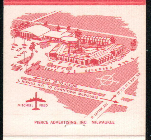 MILWAUKEE WI Red Carpet Inn RCI Vintage Motel Match Book Cover Old Advertising : eBay