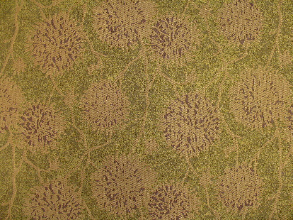 Crypton 174 Modern Contemporary Funky Floral Green Grape