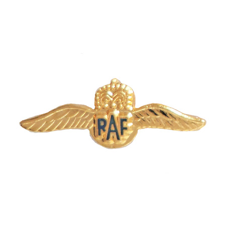 img-Sweetheart Wings Royal Air Force RAF Tiny Pin Badge - MOD Approved