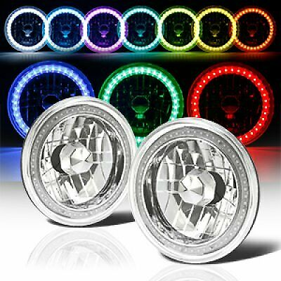 7 Quot Round 6014 6015 6024 Rgb Multi Color Led Smd Halo
