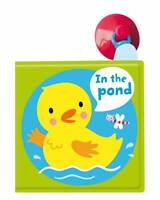 IN THE POND!: A BATH BOOK: A REVERSIBLE, FOLD OUT BOOK  9780230766600