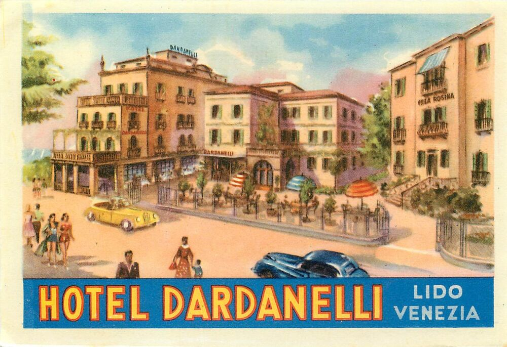 lido venezia italy hotel dardanelli vintage art deco. Black Bedroom Furniture Sets. Home Design Ideas