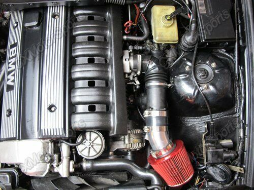Cxracing Cold Air Intake Pipe Filter For 92 98 Bmw E36