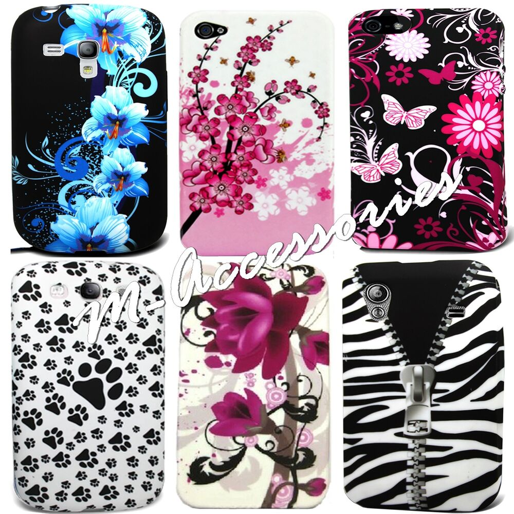 Stylish printed silicone gel clip on case cover skin for for Mobel stylisch