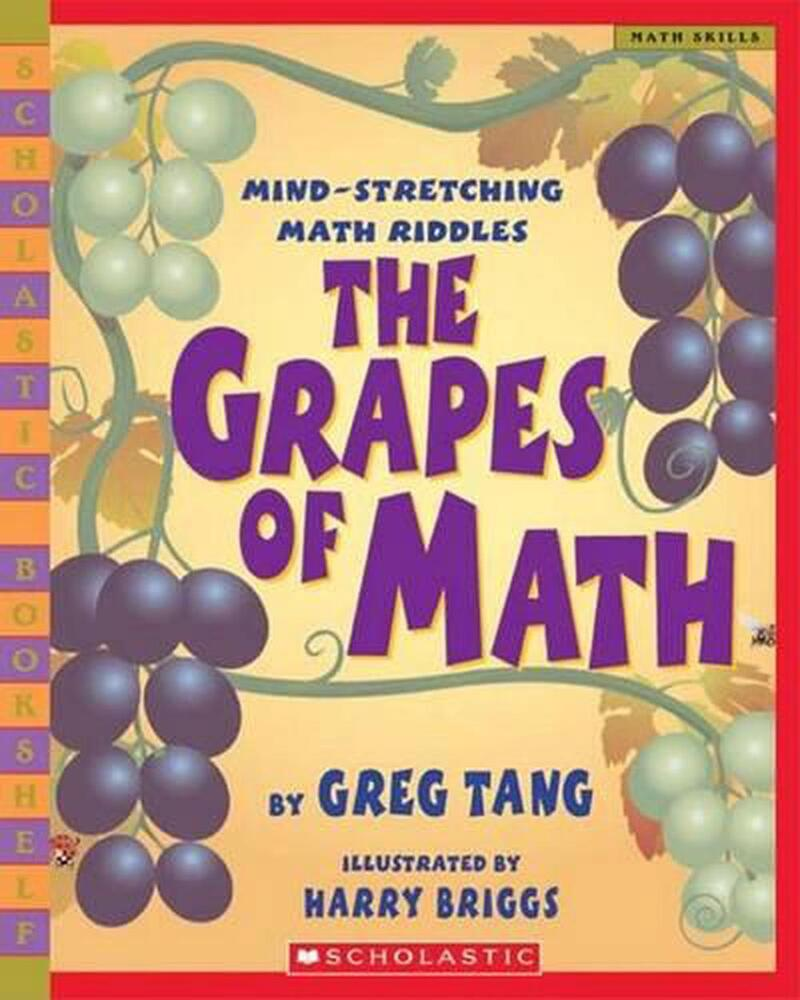 The grapes of math by greg tang paperback book english 439598400
