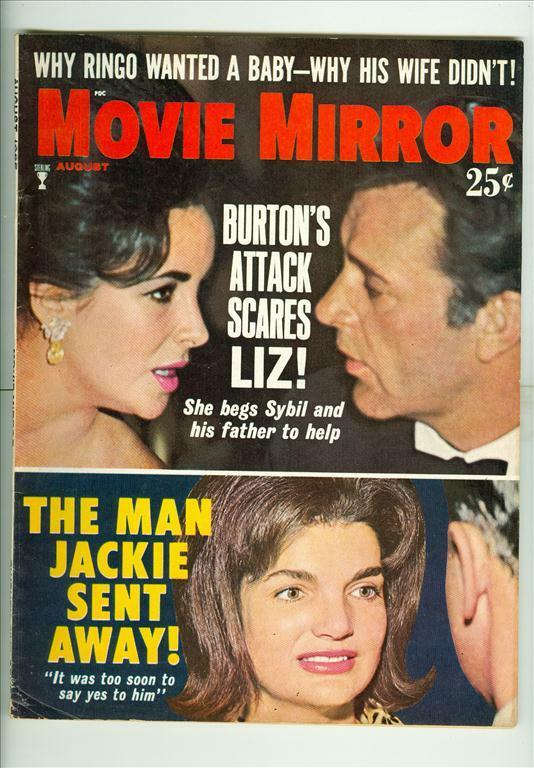 1965 movie mirror magazine elizabeth taylor richard for Mirror 1 movie