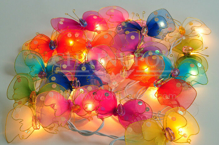butterfly lights for bedroom butterfly fancy string kid bedroom home 14677