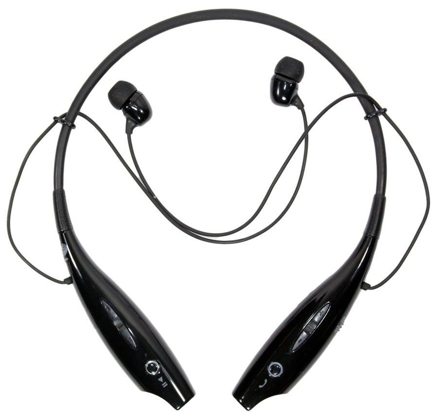 Genuine LG Tone + HBS-730 Wireless Bluetooth Stereo Headset Black Silver 639584576689