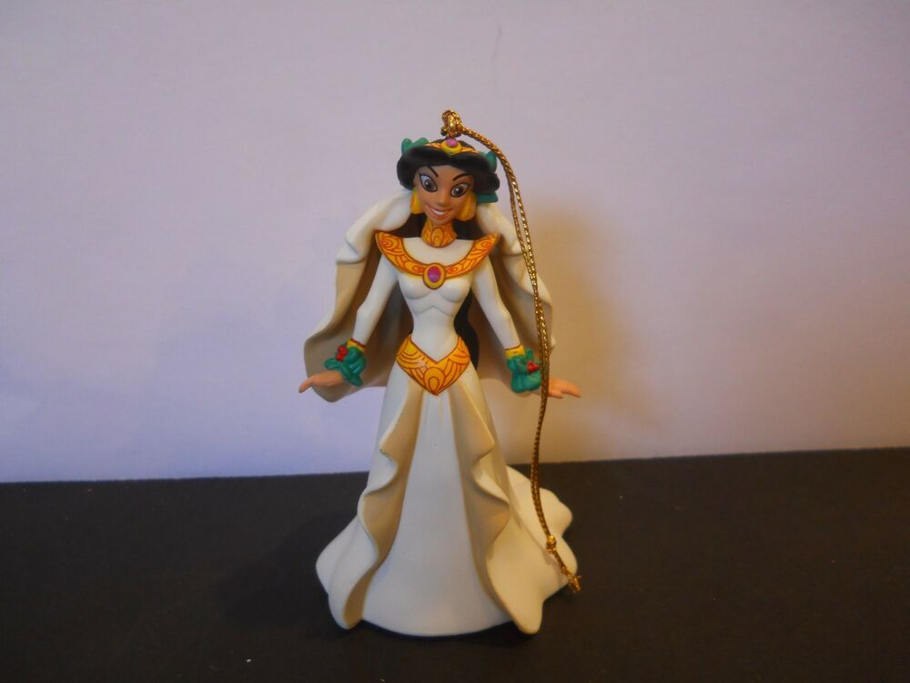 Disney Christmas Ornament Jasmine Grolier Presidents Edition Magic Wedding
