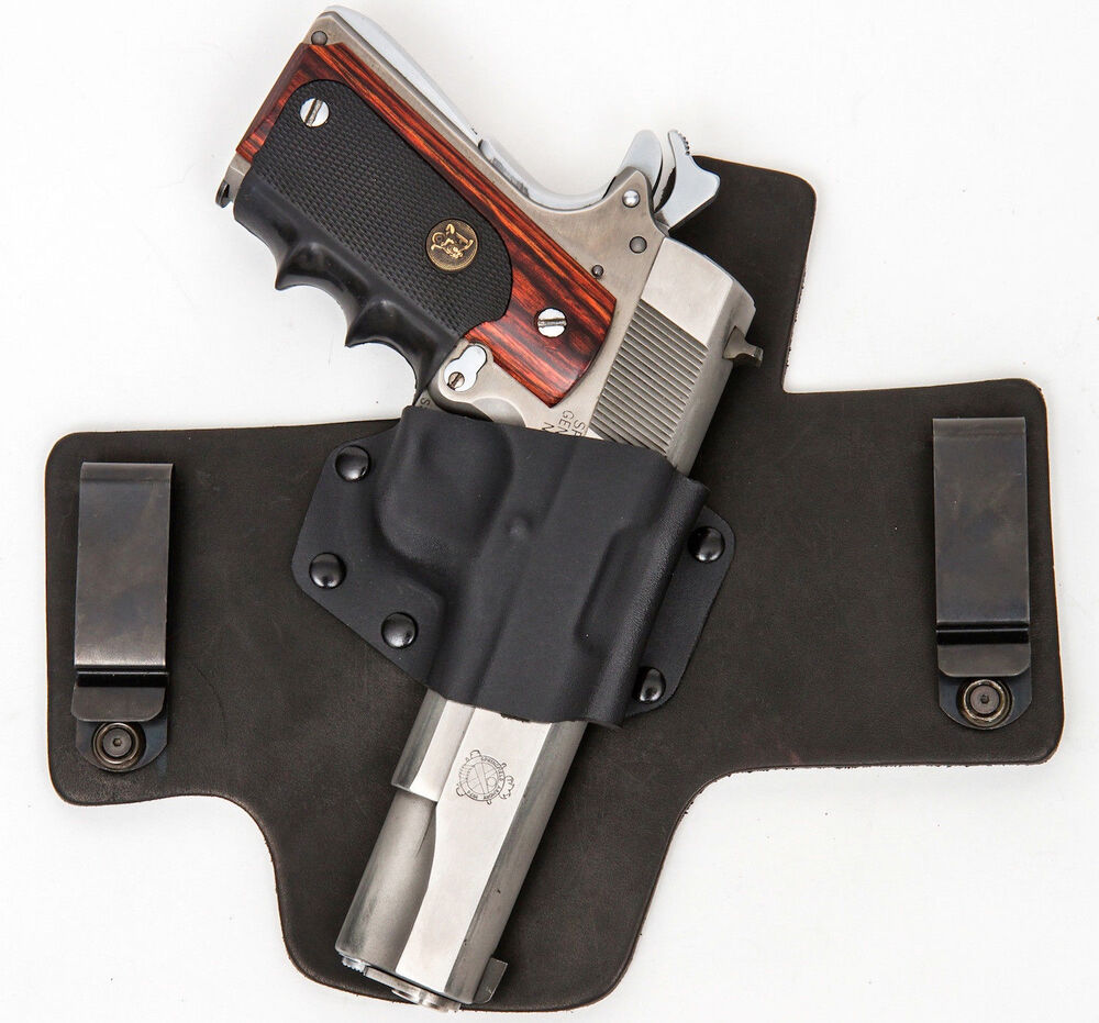1911 Colt Kimber Springfield Models IWB Right Black Gun ...