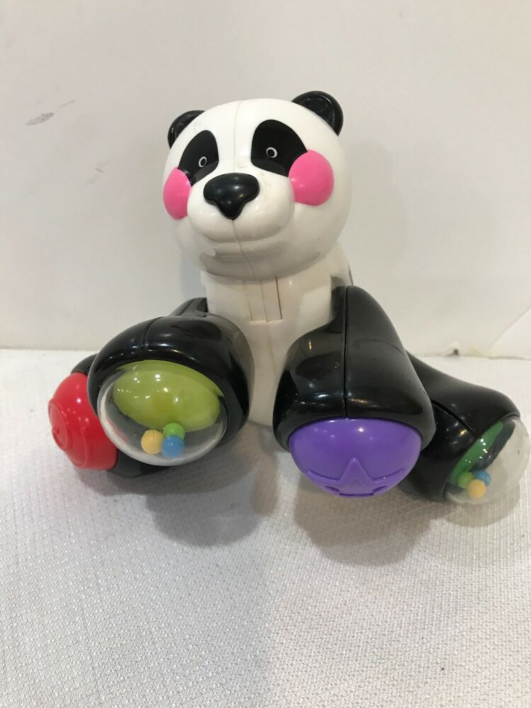 #S COLLECTIBLE FISHER PRICE AMAZING ANIMALS PANDA BABY OR ...