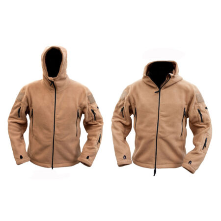 img-Mens Military Army Combat Recon Hoodie Zip Fleece Hoodies Sweat Shirt Jacket New